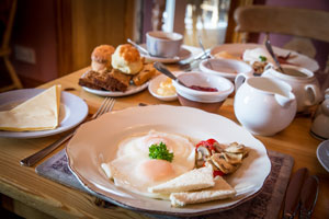 Home-cooking is a specialism of the Irish Farmhouse B&B in Ireland