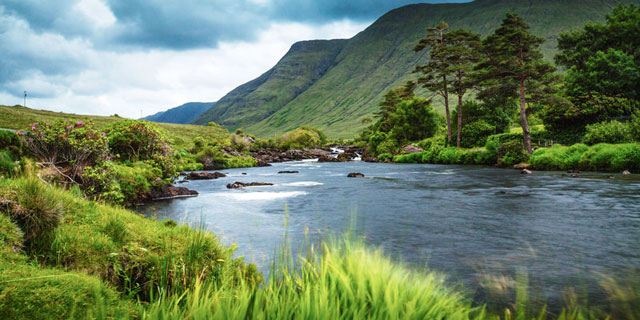 Wild Atlantic Way in County Mayo