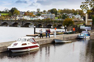 Scenic View Killaloe in County Clare