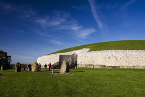 Newgrange in County Meath part of Ireland's Ancient East