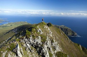 Walking Sliabh Liag Cliffs