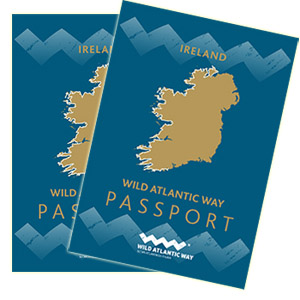Souvenir Passports from the Wild Atlantic Way