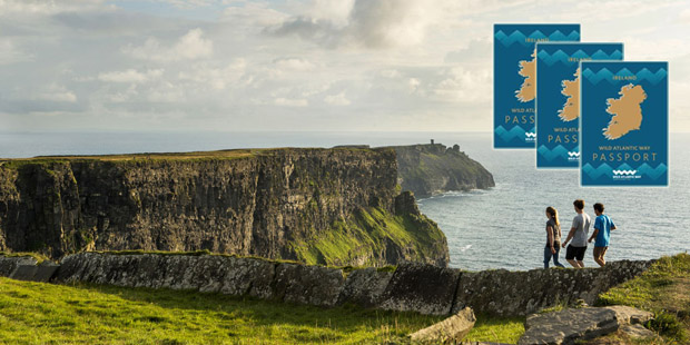 Souvenir Passport for the Wild Atlantic Way