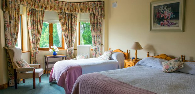 Room types available in an Irish Farmhouse B&B