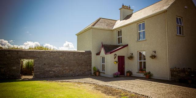 Top 5 reasons for staying in a Irish farmhouse B&B