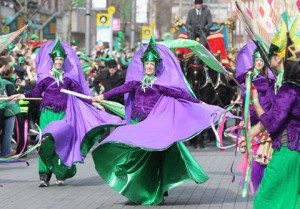 Come Visit Ireland in the Spring and watch a St Patrick's Day Parade