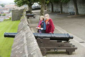 Derry-Londonderry City Walls Northern Ireland