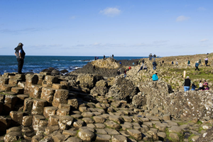 Giant's Causeway along the Causeway Coastal Route