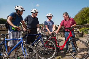 Cycling holidays in Ireland along the Great Western Greenway