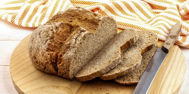 Farmhouse B&B homes are renowned for their homemade brown bread
