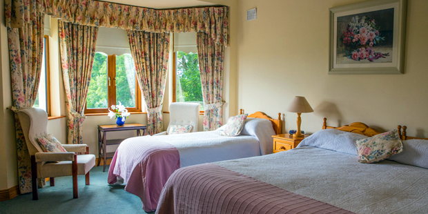 Room types available in an Irish Farmhouse Bed and Breakfast
