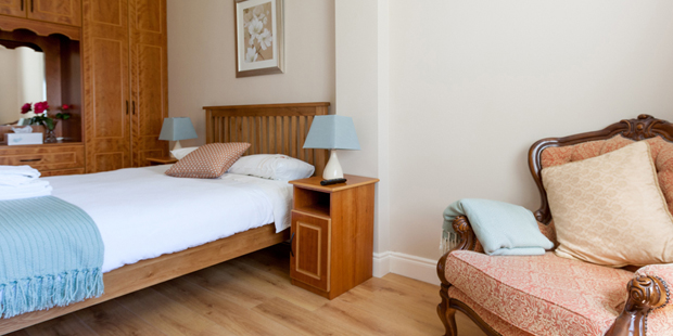 Single ensuite bedroom – room contains a single bed with ensuite facilities, suitable for one occupant.